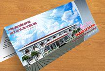 Thiệp mời Khánh thành Trung tâm Mục vụ