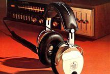 Vintage Hi-Fi Headphones