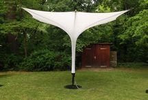 Parasol - Sonnenschirm / - Probably the most handy giant parasol in the world - Der kompakteste Grossschirm der Welt -