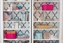 Bookshelves & Vignettes