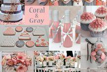 Coral&Gray