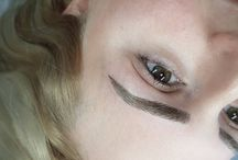microblaging eyebrows