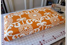 Sewing projects / Deck cushions