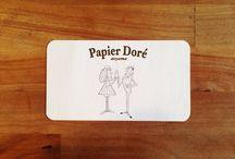 Shop card | ショップカード 白地 / beautiful shop card 白地で美しいショップカード