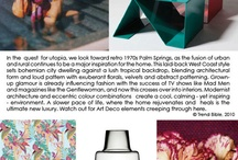 S/S 2012 Home  |  Palm Springs / Trend Bible Home & Interior Trends Spring Summer 2012