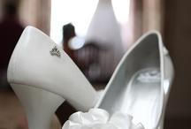 Super Sweet Shoes! / Celebrations Disc Jockey & Photography • Super Sweet Shoes • http://celebrationsdjphoto.com • Strappy, flats, pumps, glitter, rhinestones — all kinds of styles of wedding shoes! #wedding #photography #lehighvalley #berkscounty #centralpa #poconos