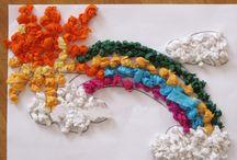 Rainbow craft ideas
