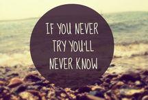 Inspirational Quotes / Inspirational quotes, motivational quotes, love quotes, celebrity quotes and everything in between.