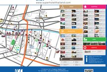 One day trip around Lohas Suites Sukhumvit Soi2, Bangkok, Thailand / You can read our map at the Lobby to check out interesting places and their routes where you may want to go and explore them by yourself. You can also scan this Lohas map' s QR Code to install the map in your smart phone or tablet. Have fun!