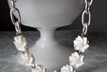 So much jewelry... necklaces! / by Kriste Barnette