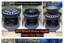 wood cookers/burners