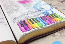 Stamping Bible Journaling