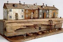 driftwood and scrap wood