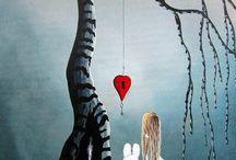 Alice in W:Art/Shawna Erback / Alice in wonderland (illustrator)