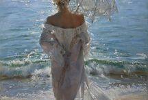 Art - At the beach