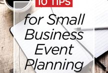 Event planning for biz