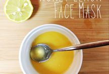 DIY Facial Masks / Your own facial masks create by you. For healthier skin results!