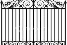 Puerta herreria