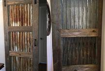 πόρτα συρόμενης με τζαμι