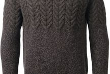 Knitting clothes for men