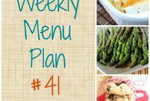 weekly menus