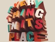 Typography / by Daniel Bonela