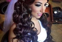 wedding hairstyles / nice idea's for a wedding or a chic party