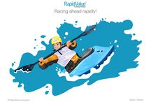 RapidValue Illustrations / Illustrations done for RapidValue Solutions