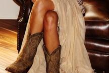 Cowboy boots for Kara's wedding!