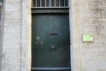 Doors, dveře / nesbíráno ve Francii
