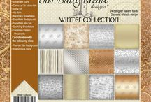 ODBD Winter Paper Collection 2014 / https://www.ourdailybreaddesigns.com/index.php/winter-collection-2014-6x6-paper-pad.html