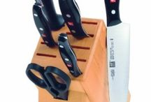 Knife Block Sets / We gurantee the quality craftmanship and durability from top knife block set manufacturers such as Zwiling J.A. Henckles, Wustof, Global Knives, Mercer Knives.Select from our extensive range of name brand knife block sets. www.samscutlerydepot.com