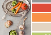 Food Color Mood Board