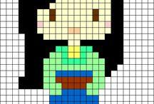 crochet pixel