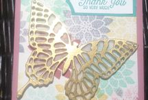 Stampin' Up! - Flourishing Phrases / Stampin' up stamp set and card design
