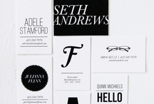 pretty things: business cards / by Kristen @DineandDish