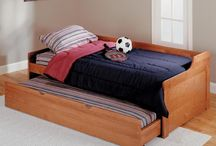 Trundle Beds / Great for overnight guests without taking up additional space in your home.