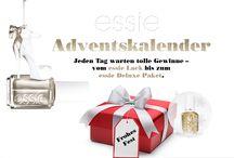 """#essieWeihnacht 2014 / In der Vorweihnachtszeit gibt´s bei essie einen """"galacktischen"""" Adventskalender! Täglich öffnet sich ein Türchen mit einer Frage oder einer Challenge, die für wahre essienistas ein Klacks ist! http://www.essie.de/advent"""