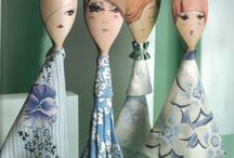 Crafts - Wooden Spoon Puppets