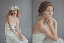Bohemian Vintage Wedding Hairstyle