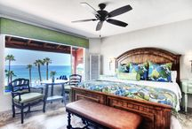 Room 2 - North Villa / Beachcomber Inn   Come for the view, Stay for the experience   Villa Suite. North wing. This villa comes equipped with a king bed, sofa bed, bathroom and full kitchen. The kitchen comes furnished with a full size refrigerator, oven, four-burner stove, microwave, coffee maker, dishes, cups, pots, pans and utensils. Each room has full ocean views including a patio with two comfortable wooden lounge chairs.  Accommodates: 4