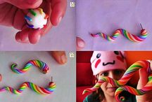 Polymer Clay Creations / by Evelyn Diosdado