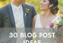 Wedding Business / A board for wedding business tips.