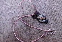resin jewelry / lienarthandmade.blogspot.sk