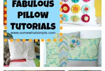 Sewing Pillows & Cases