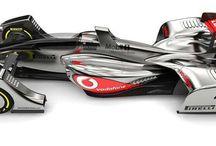 formule one concept cars