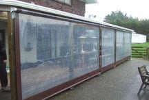 plastic porch protection