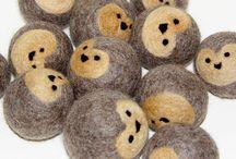 crafts - felt balls