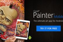 Painter Mobile / Download Painter Mobile for Android app today!  / by Corel Painter