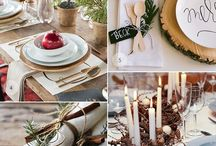 tiny christmas table style